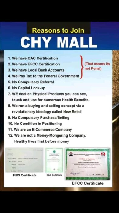 Chymall Investment – (Real Or Scam) – Login and Register (Mr. Ibu)
