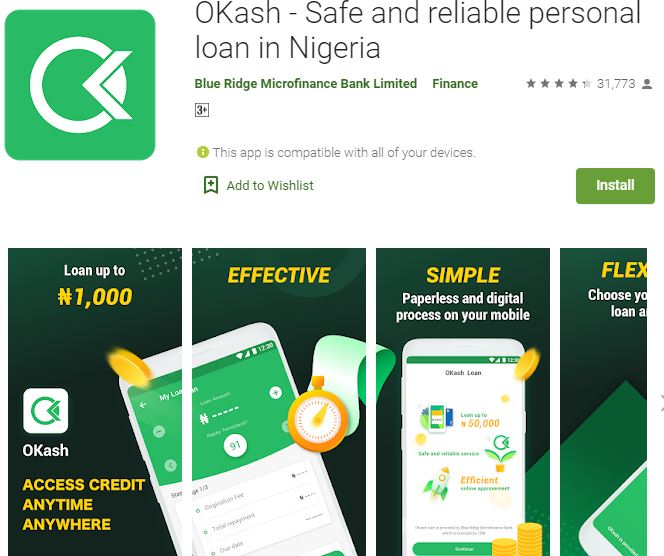 Customer Care: OKash loan app , Phone Number , Email Address