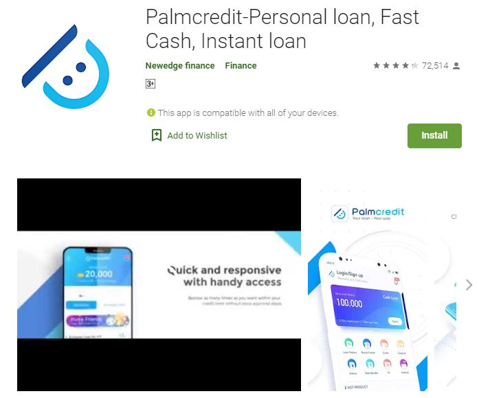 Customer Care: Palmcredit loan app , Phone Number , Email Address